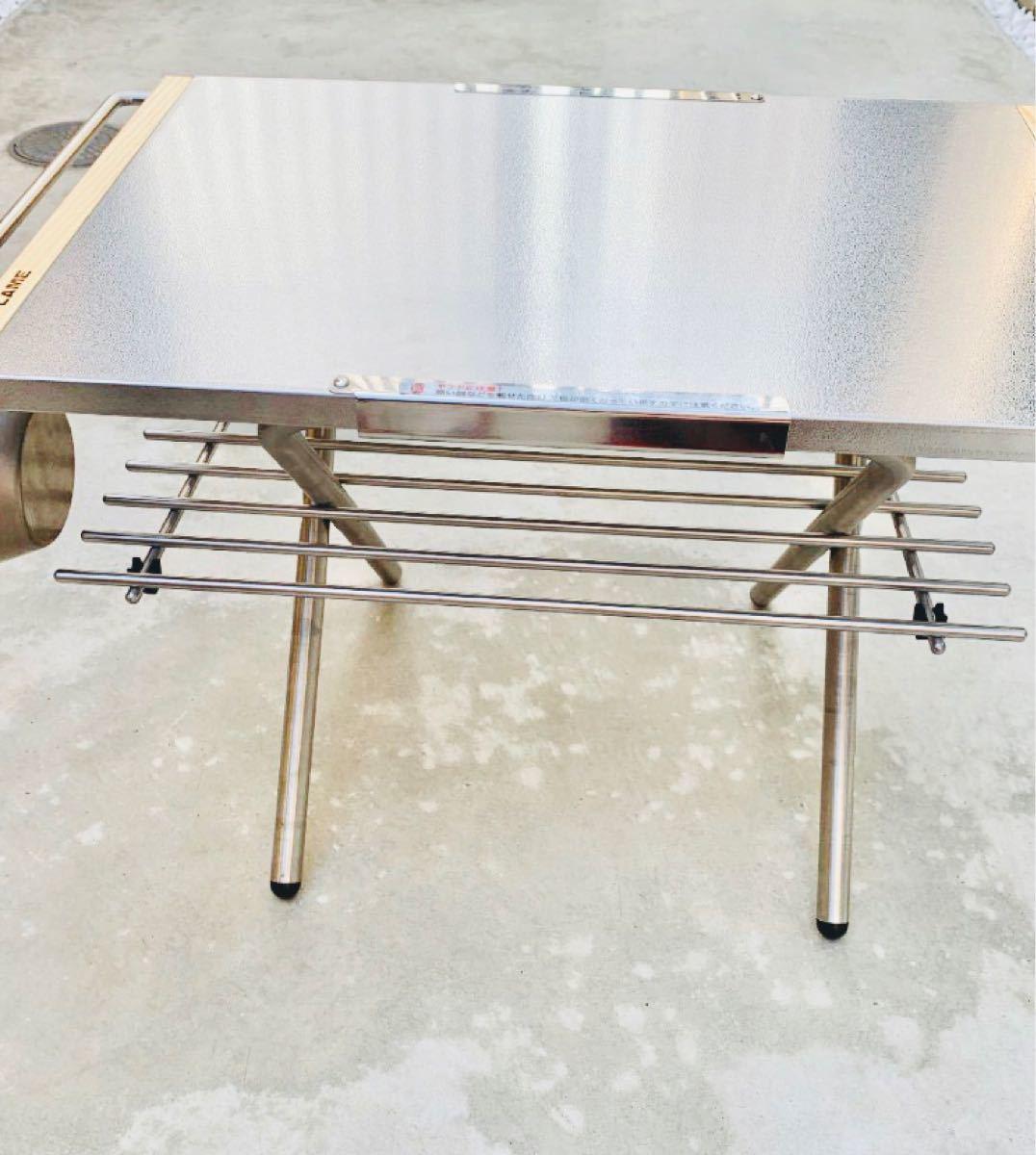 ユニフレーム焚き火テーブル用 ステンレスラック