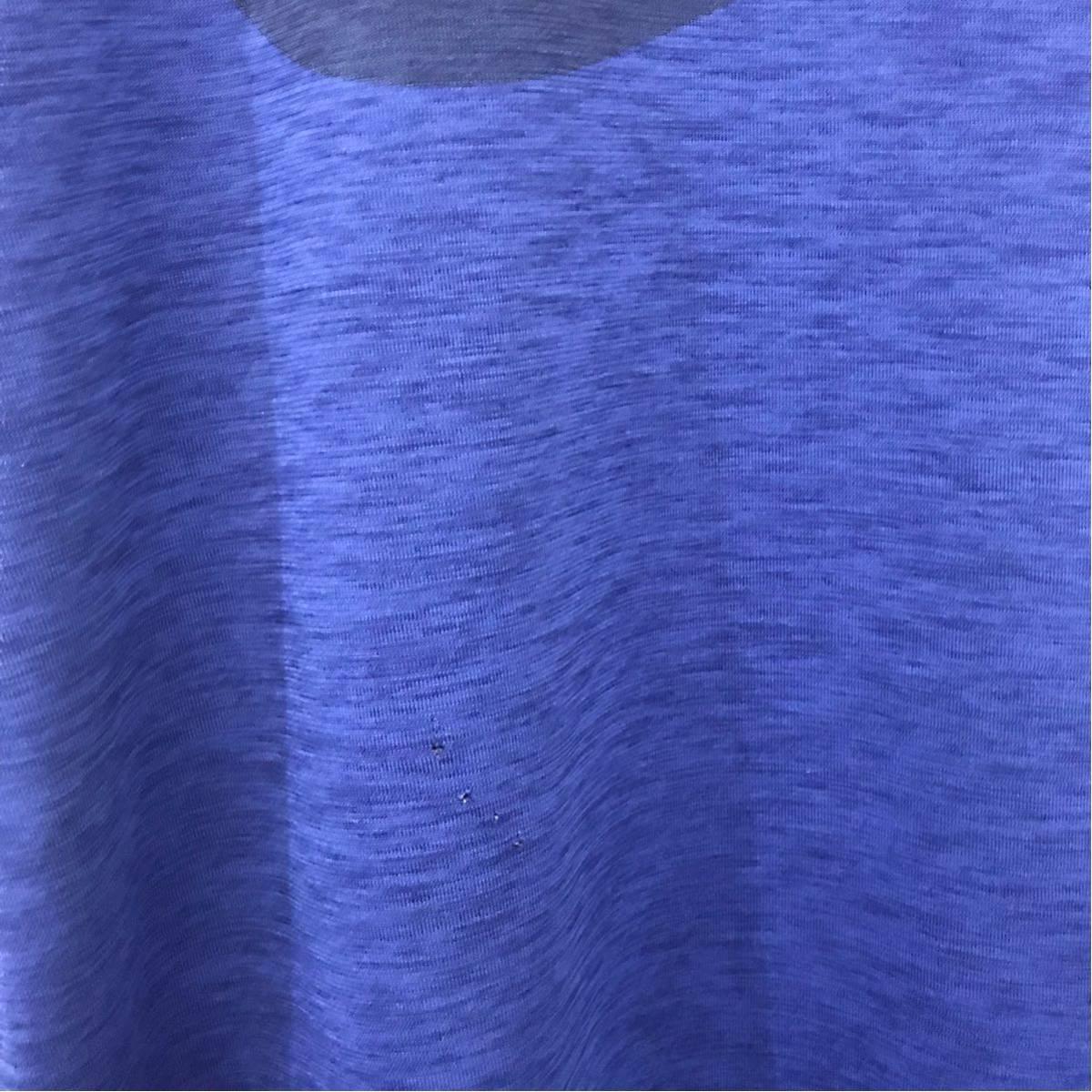 ナイキ NIKE トレーニングウェアー スポーツウェアー ジムウェアー ビッグロゴ ドライシャツ メンズSサイズ 穴あり ♭◇