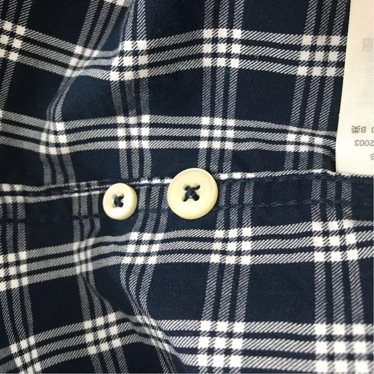 アバクロ Abercrombie&Fitch アバクロンビー&フィッチ 良品 ファッション 衣類 ギンガムチェック 長袖 メンズ S175サイズ ♭◇