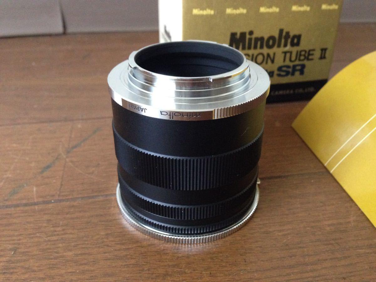 ミノルタ エクステンションチューブ2 for SR Minolta EXTENSION TUBE Ⅱ FOR Minolta SR カメラ 箱あり_画像2