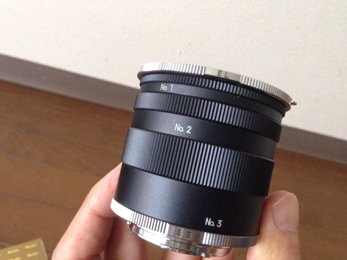 ミノルタ エクステンションチューブ2 for SR Minolta EXTENSION TUBE Ⅱ FOR Minolta SR カメラ 箱あり_画像3
