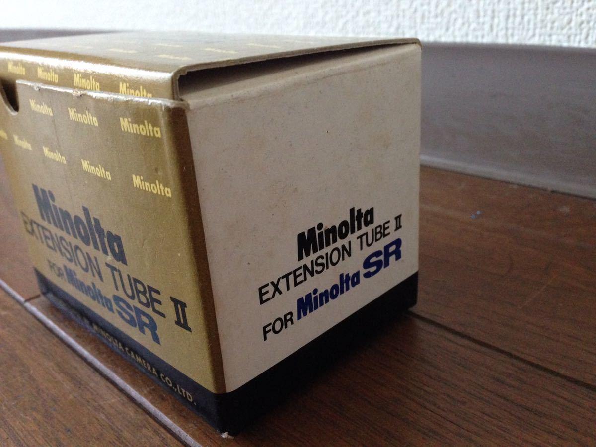 ミノルタ エクステンションチューブ2 for SR Minolta EXTENSION TUBE Ⅱ FOR Minolta SR カメラ 箱あり_画像10