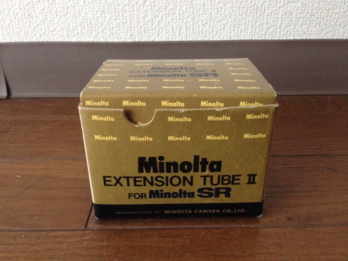 ミノルタ エクステンションチューブ2 for SR Minolta EXTENSION TUBE Ⅱ FOR Minolta SR カメラ 箱あり_画像9