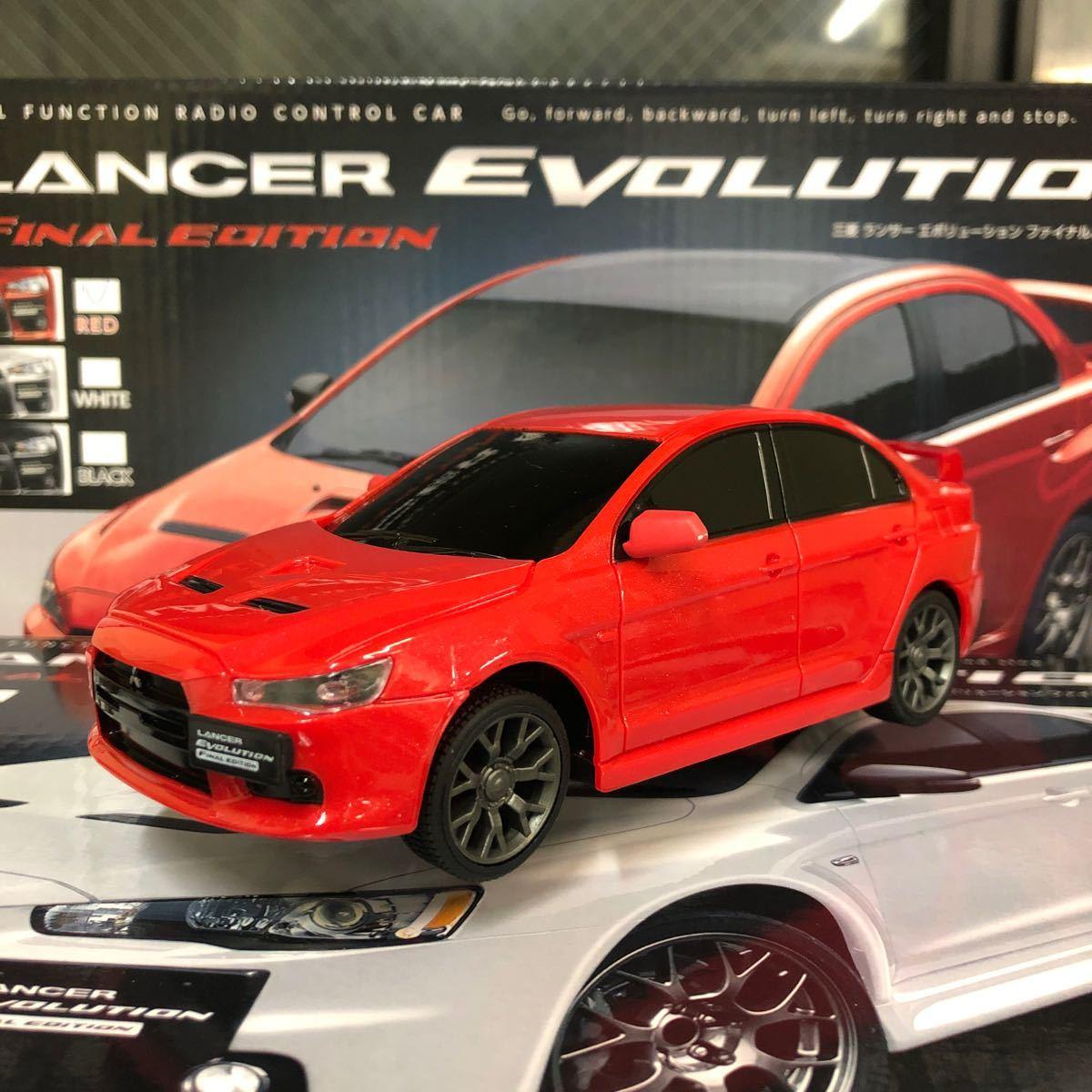 トイラジコン ランサーエボリューション ファイナルエディション 4色セット 新品