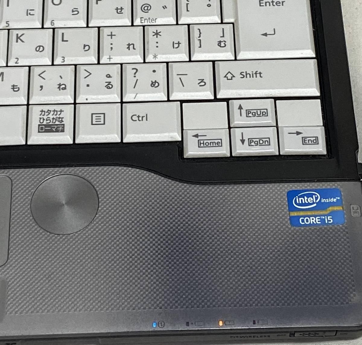 【中古/塗装難有】富士通 LIFEBOOK S762/G 13.3型 / Windows10 Pro/Core i5-3340M/メモリ4GB/120GB SSD/ドライブ有/WPS Office/カメラ認識_画像4