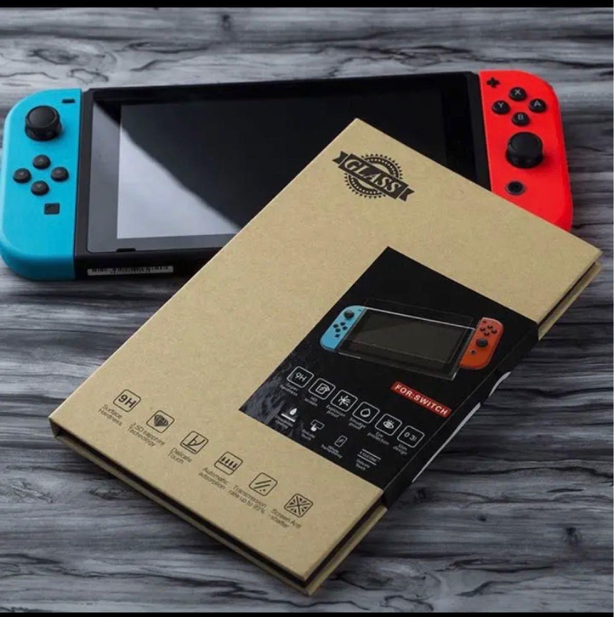 Nintendo switch 液晶保護ガラスフィルム