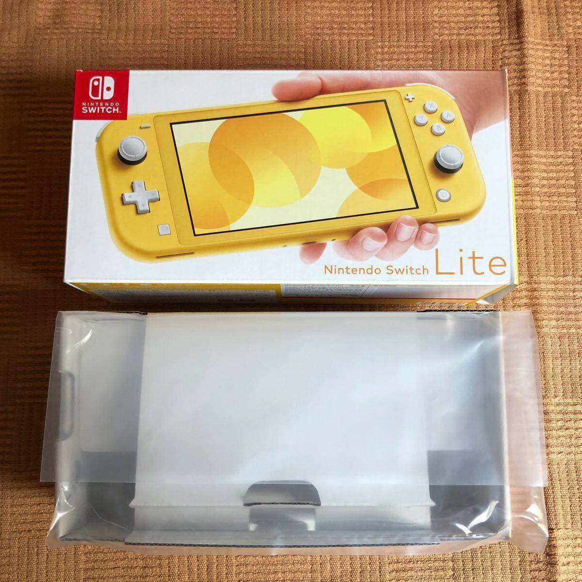 任天堂 Nintendo Switch Lite イエロー ハードポーチカバー付