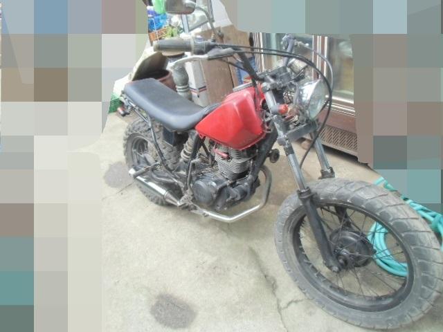 「▲モ-670 ヤマハ TW200E キックOK 2JL-001967 中古 群馬県桐生市/直接引取 書類無し バイク」の画像1