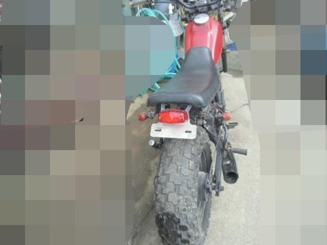 「▲モ-670 ヤマハ TW200E キックOK 2JL-001967 中古 群馬県桐生市/直接引取 書類無し バイク」の画像3