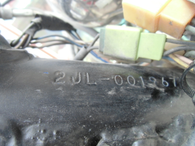 ▲モ-670 ヤマハ TW200E キックOK 2JL-001967 中古 群馬県桐生市/直接引取 書類無し バイク_画像6