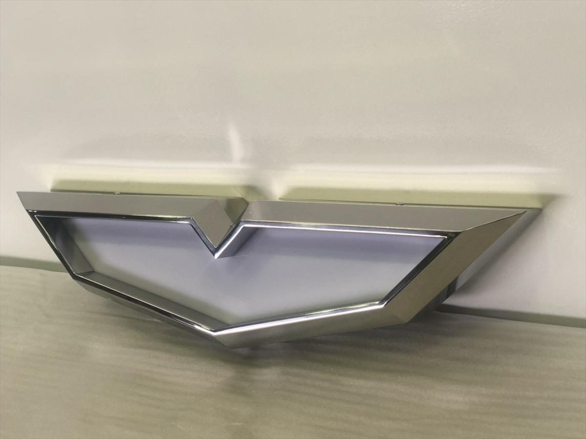 トラック 日野 バスマーク アンドン ステンレス 小サイズ ケース 新品 未使用 送料無料_画像3