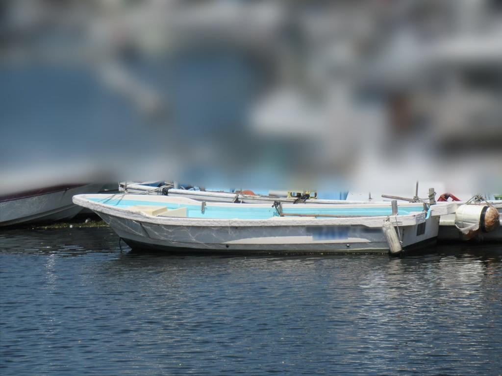 「和船 船体のみ 18ft (5.4m) S52年進水 古いですがまだまだ 愛媛県 格安 小型船外機用和船 ボート」の画像2
