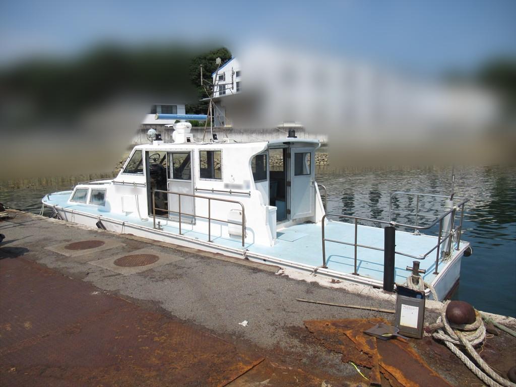 「交通船・通船・海上タクシー 11.8m(約39ft) 愛媛県 14人乗 観光船・遊覧船にも」の画像2