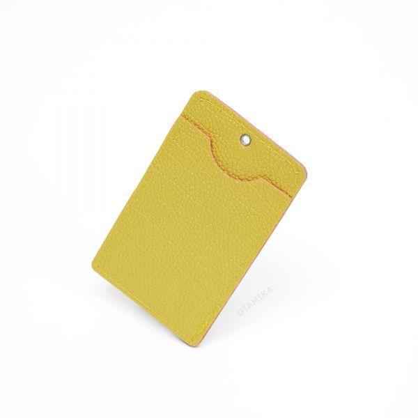 ポシェット スマホ ショルダーバッグ ショルダーポーチ レターバッグ 簡易 痛バッグ yellow イエロー 黄色