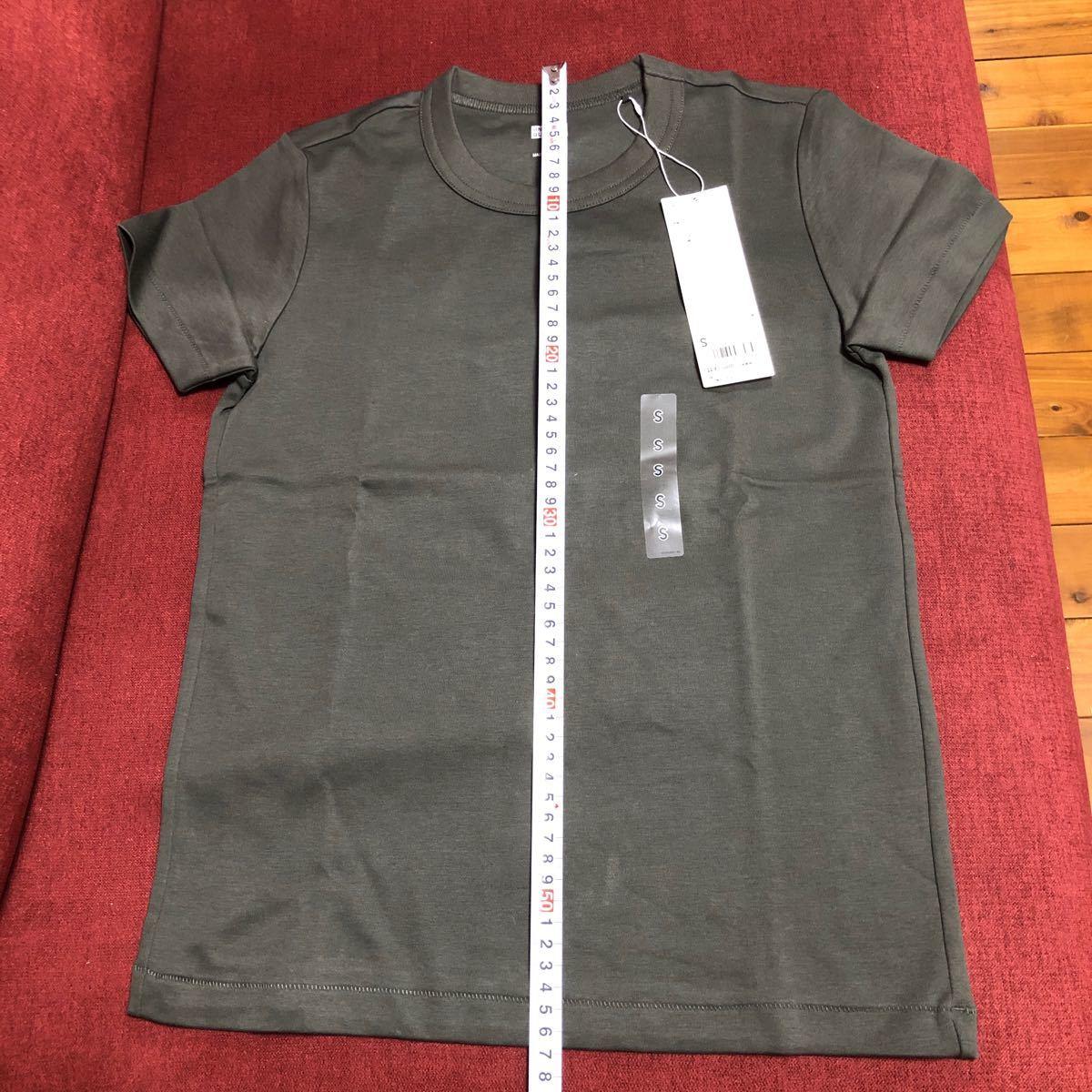 ユニクロ クルーネックTシャツ Sサイズ WOMEN