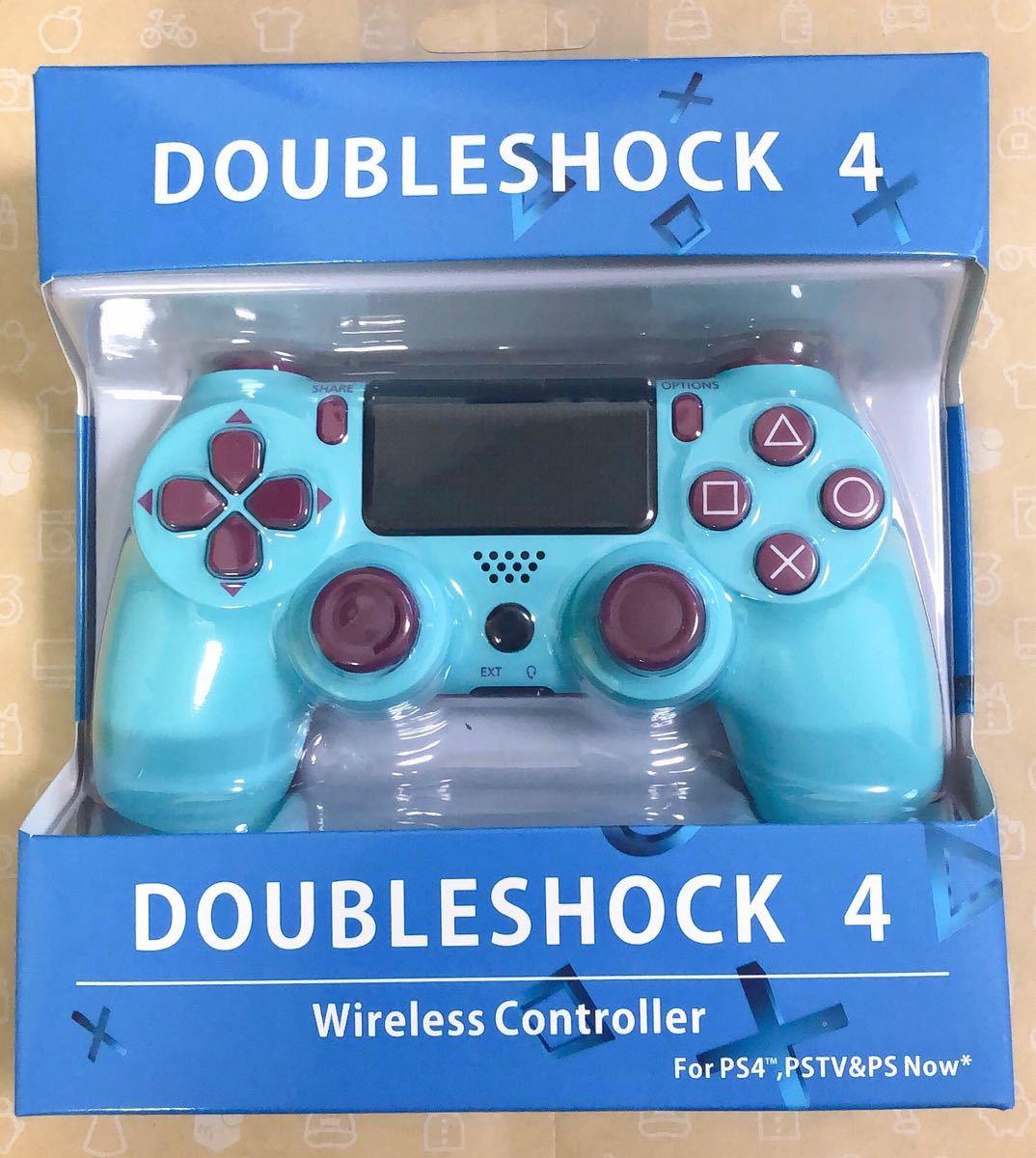 PS4 ワイヤレスコントローラー 高速Bluetooth4.0 充電ケーブル付き