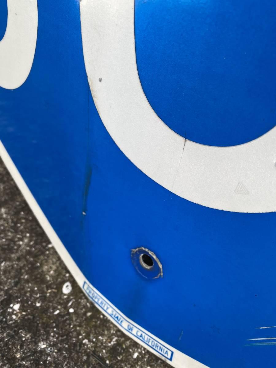 ★本物★アメリカ 道路標識 INTERSTATE 805★HC-6★カリフォルニア ロードサイン ガレージ 世田谷ベース アメリカン 看板 ビンテージ USA_画像6