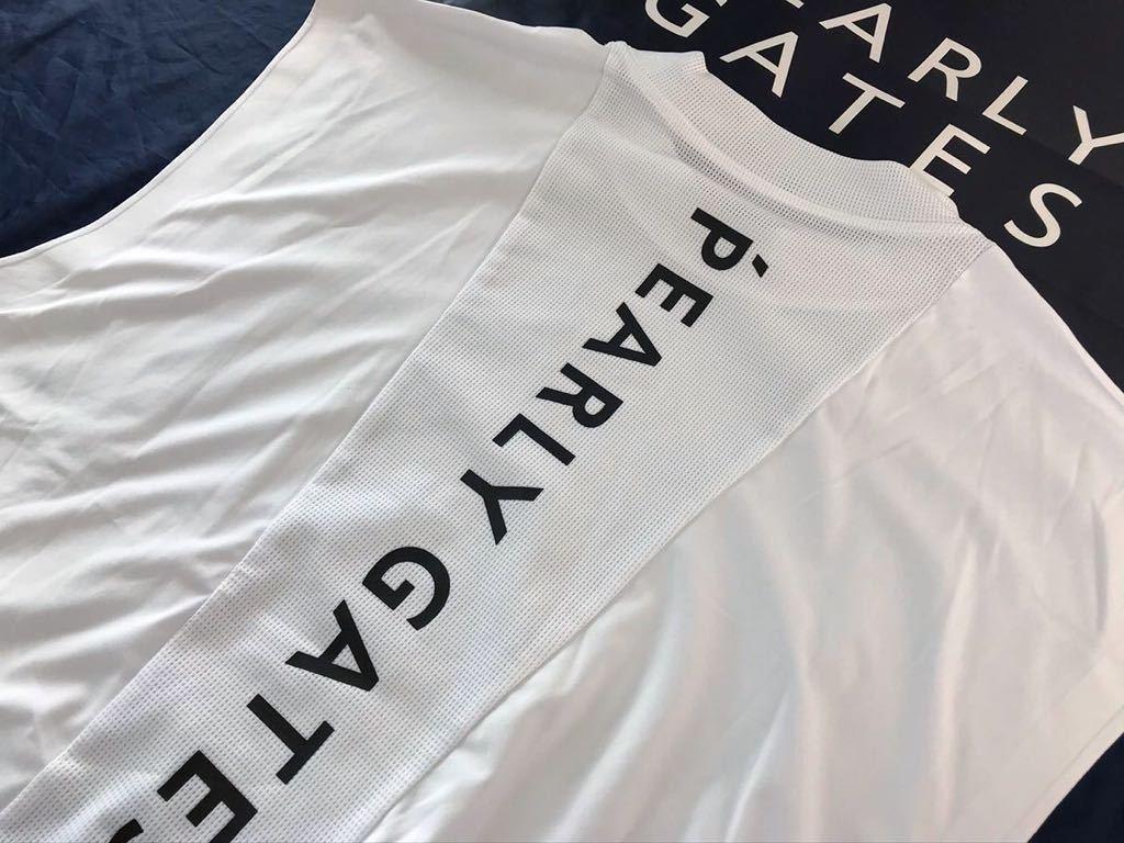 本物 新品 13526105 PEARLY GATES パーリーゲイツ 5(L) 超人気 NEWライン PPG MSY超軽量 ベストタイプノースリーブシャツ カタログ掲載