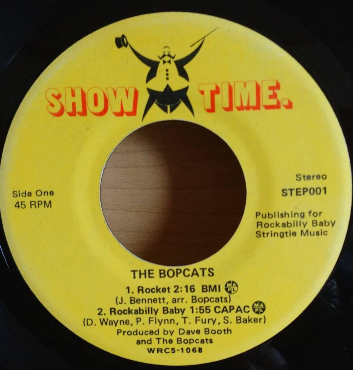 ◆ カナダ ネオロカ ◆ THE BOPCATS / 4曲入り7インチEP ◆ アルバム未収録有 ロカビリー サイコビリー ストレイキャッツ Stray Cats ◆_画像3