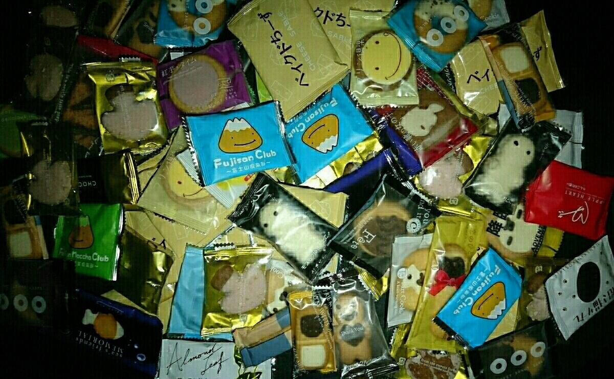 お買い得 お土産 お菓子 詰め合わせ 100個 セット まとめ クッキー タルト チョコ アーモンド りんご 抹茶 紅いも チョコレート ケーキ_画像1