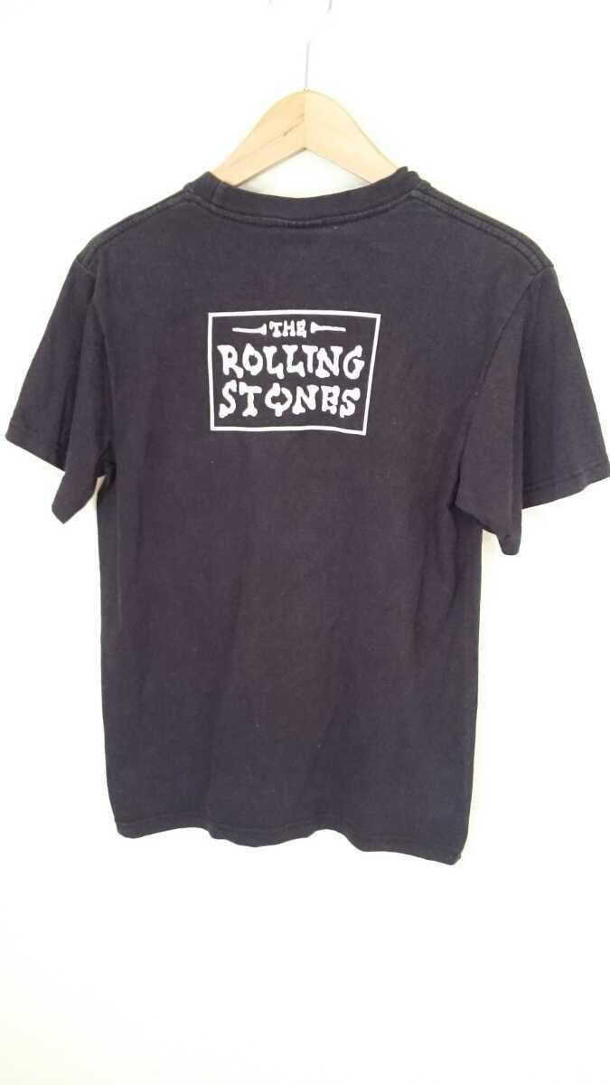 古着屋購入 M【THE ROLLING STONES/ローリングストーンズ】MENS/メンズ 男性用 トップス 半袖 カットソー Tシャツ バンドT ミュージシャン_画像3