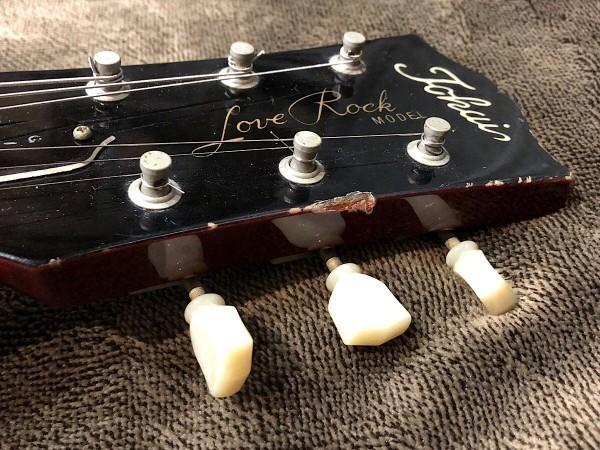 ゲキ渋 良音 TOKAI トーカイ レスポールスタンダード タイプ LOVE ROCK ラブロック チェリーバースト エレキギター 中古_画像5
