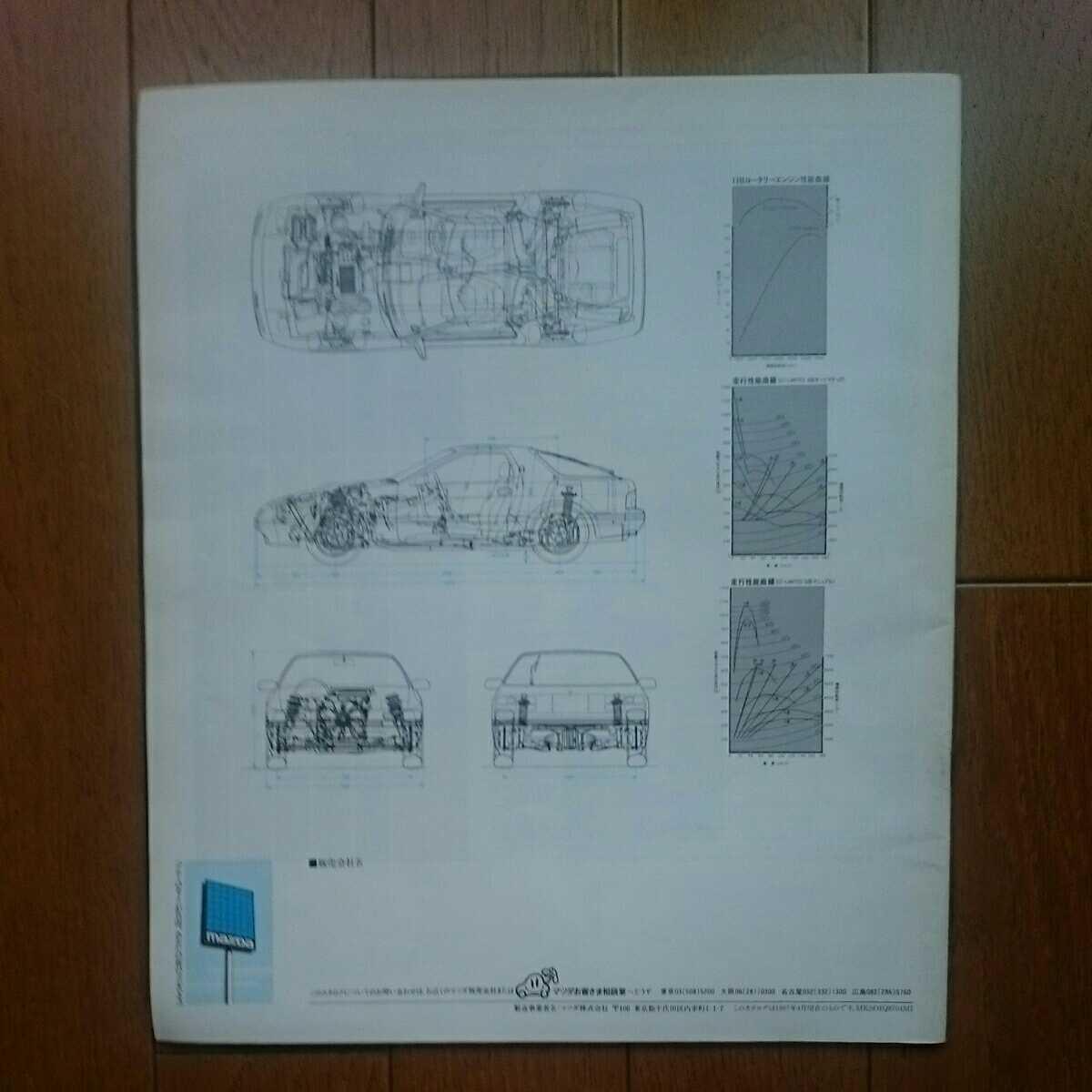 1987年4月・印無・FC3S・RX-7・前期型・36頁・カタログ&車両価格表_画像2