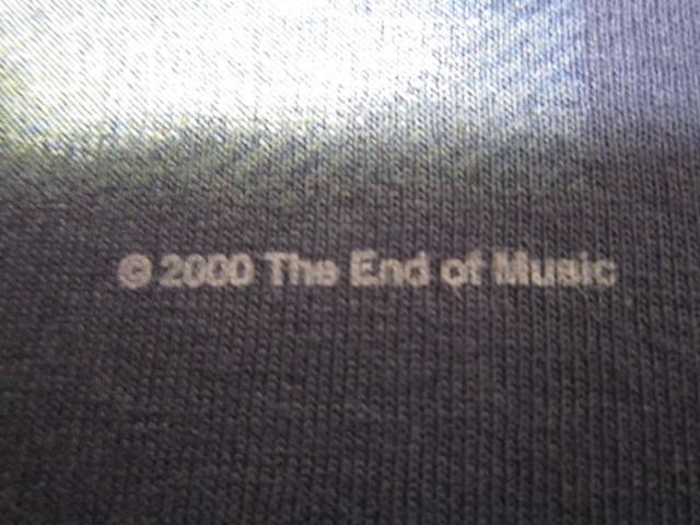 デッドストック カートコバーン 【Kurt Cobain】 トリビュートTシャツ ネイビー 2000年コピーライト ニルバーナ 【nirvana】_画像4