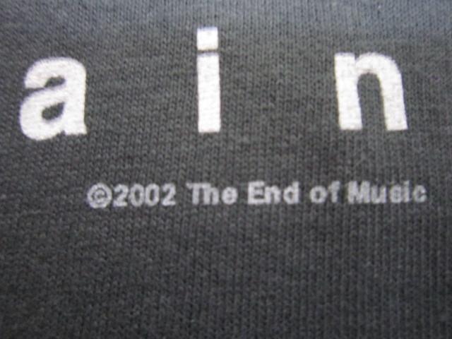 デッドストック カートコバーン 【Kurt Cobain】 フォトプリントTシャツ コピーライト2003 チャコールグレー ニルバーナ 【nirvana】_画像4