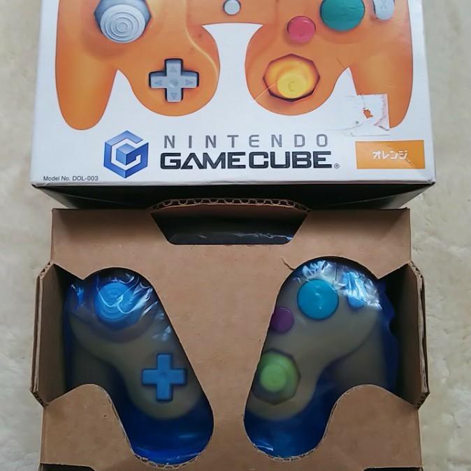 ゲームキューブ コントローラ   オレンジ