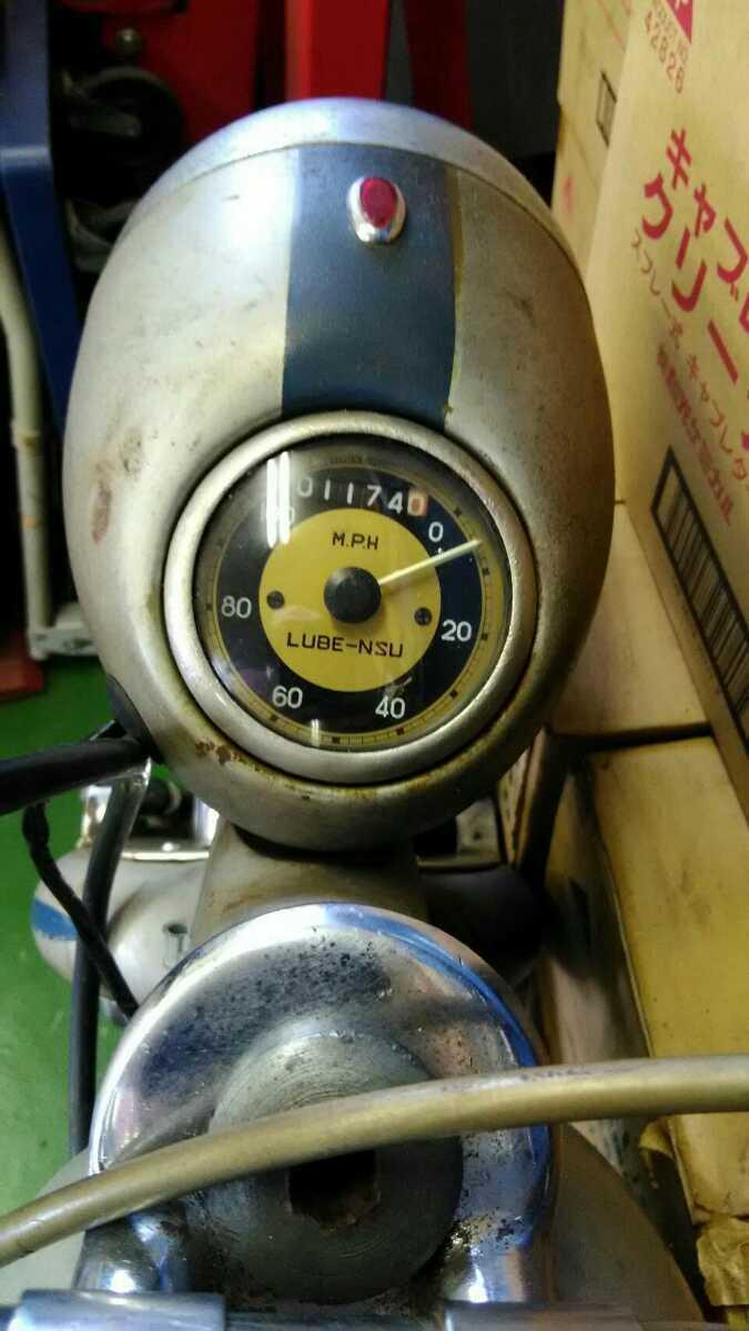 「車名LUBE-NSU.S,Aルーベ2サイクル スペイン車」の画像2
