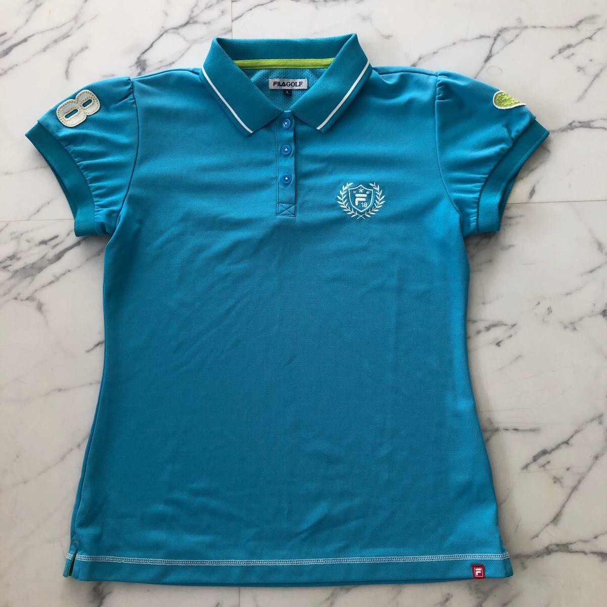 フィラ ゴルフ レディース ポロシャツLサイズ