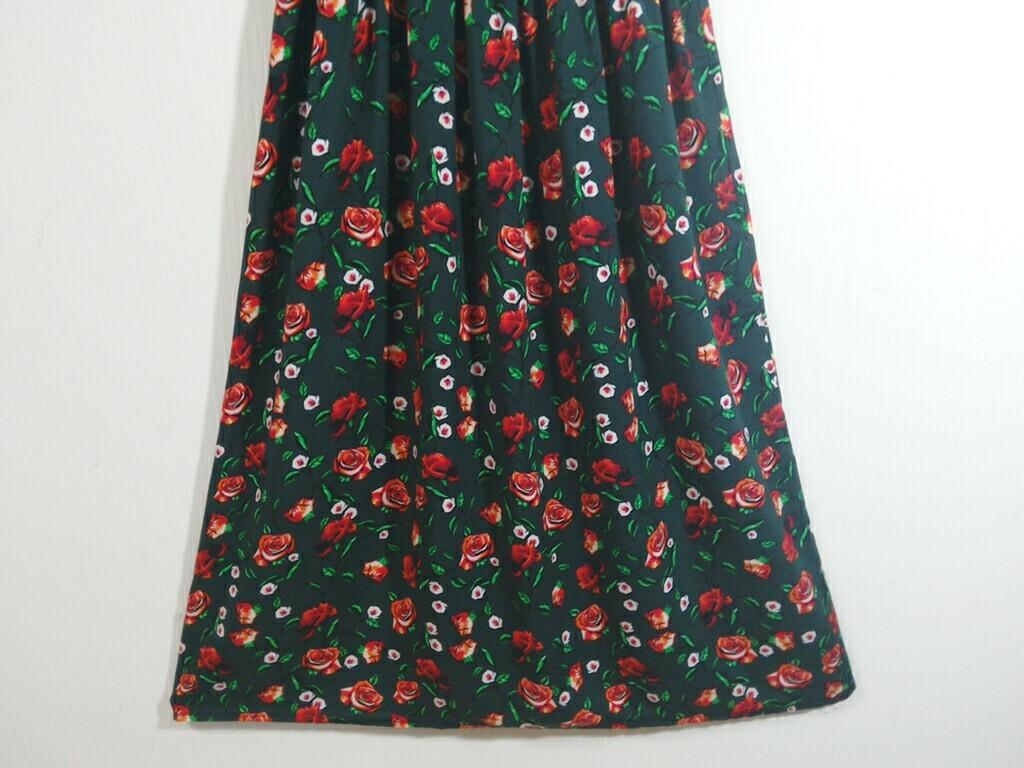 ワンピース ロング リゾートワンピース  綺麗な花柄 ロングワンピース 73