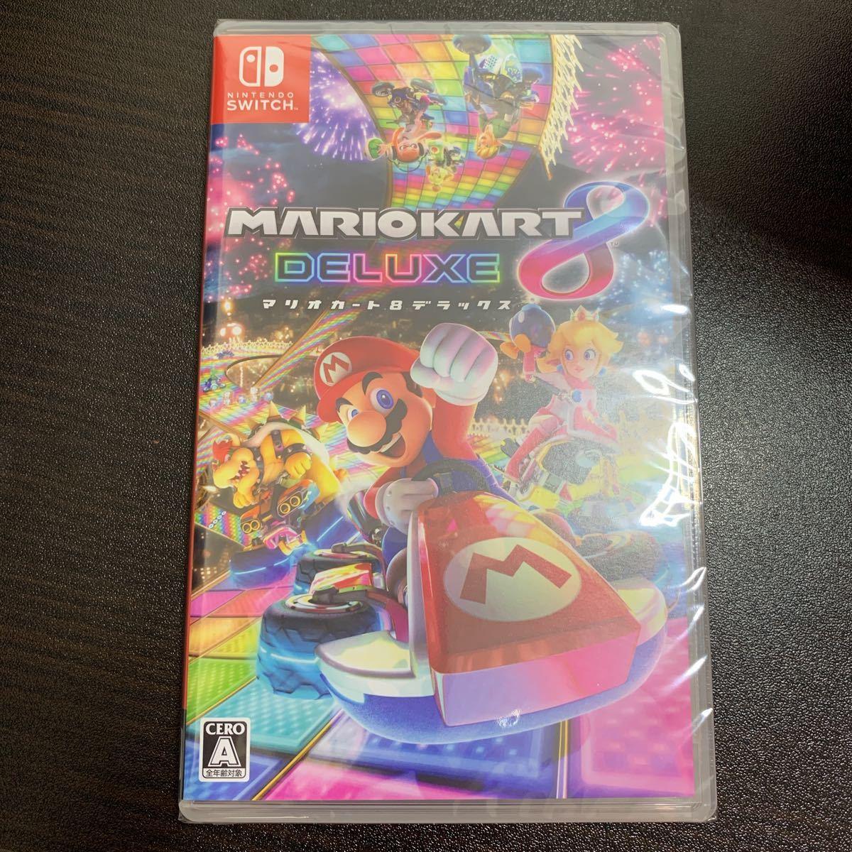 【新品・未開封】 マリオカート8 デラックス(Switch)