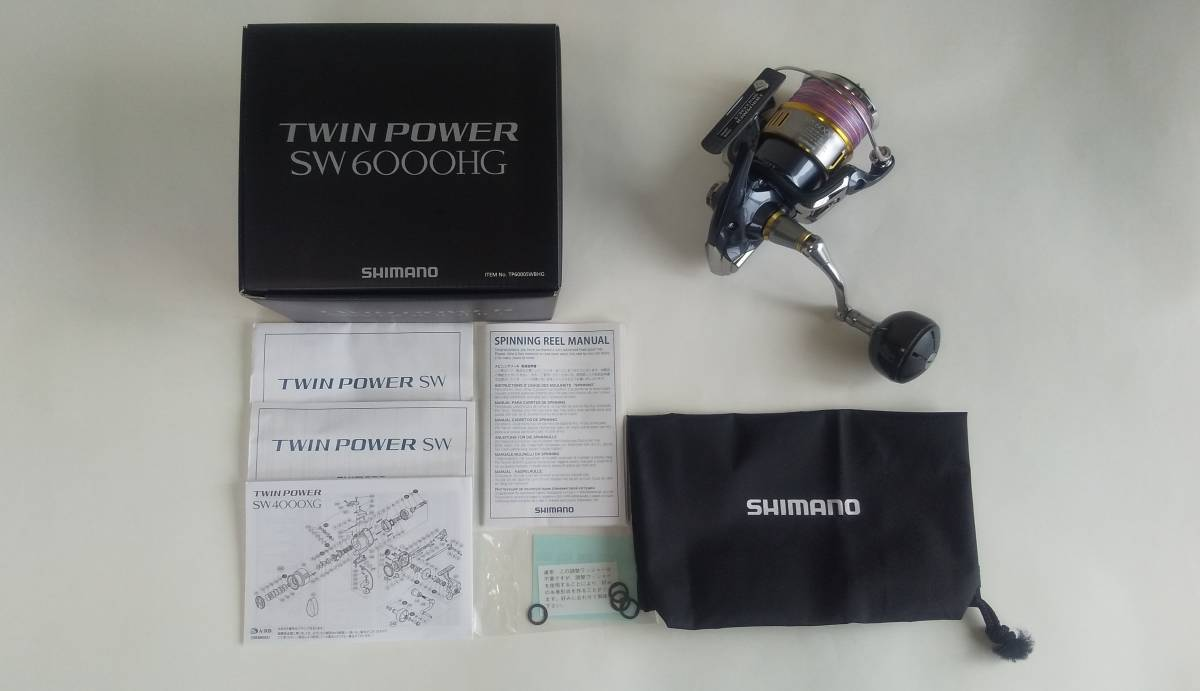 シマノ 15 ツインパワーSW6000HG