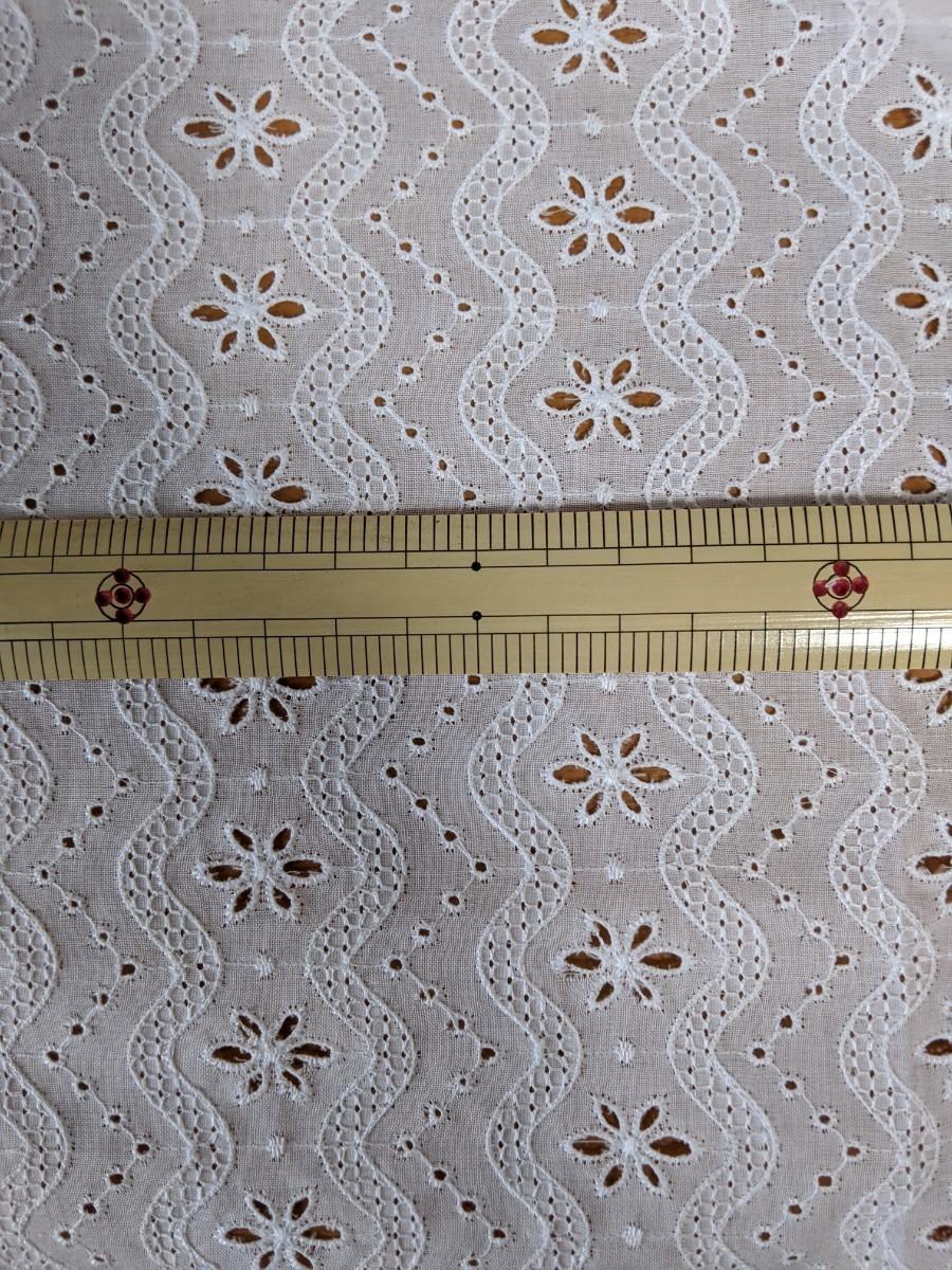 コットンレース生地  52×60cm