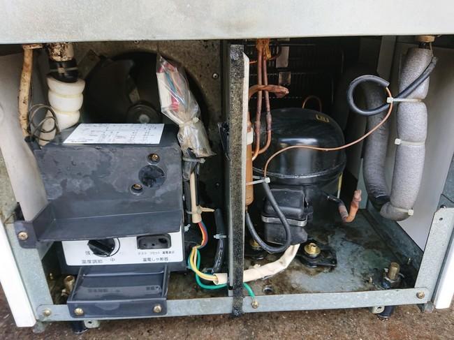 サンヨー 冷蔵ショーケース SMR-S75 _画像4
