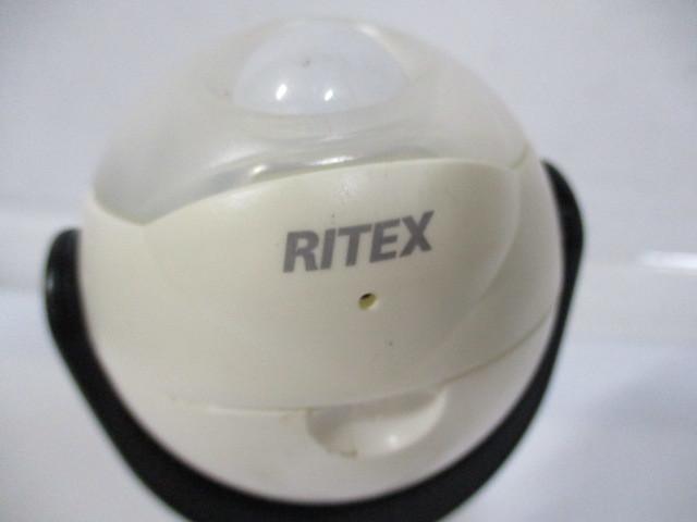 8-858◆RITEX LEDどこでもセンサーライト? 防犯ライト/防犯グッズ◆_画像5