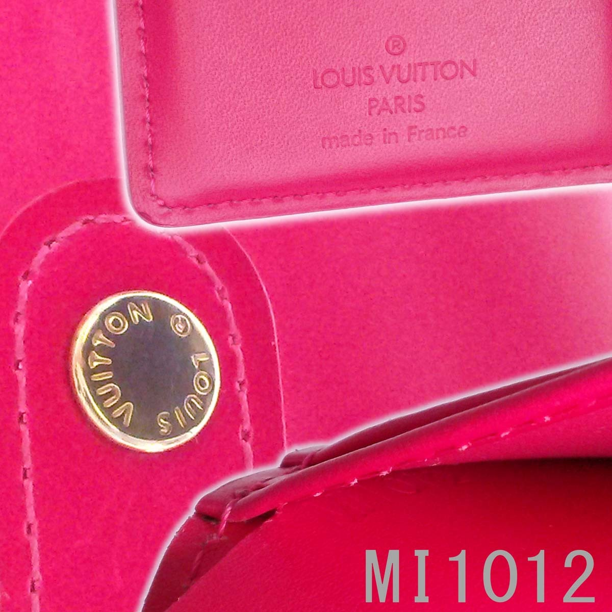 【美品】ルイヴィトン ヴェルニ フューシャピンク がま口財布 人気色 ヴィエノワ レディース M91254 箱 appre6101【一撃即決】_画像10