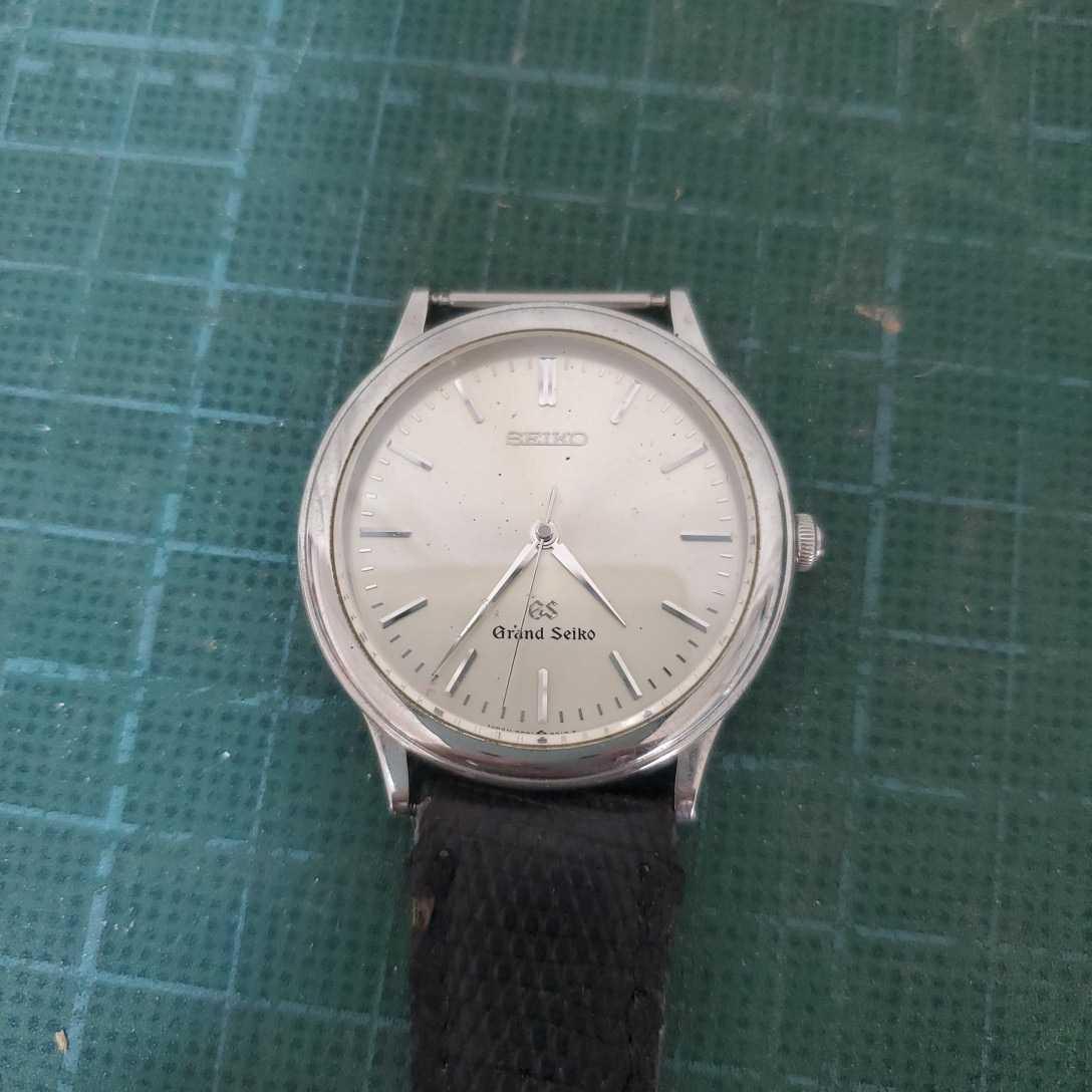 GRAND SEIKO グランドセイコー GS 9581-7000 貴重 ビンテージ 1990年代 クオーツ 腕時計 未動作 アンティーク コレクター 時計