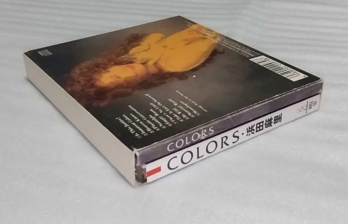 シンガー ソング ライター 浜田麻里 アルバム カラーズ 初回限定盤 スリーブ ケース ブック レット付 廃盤CD COLORS VICL-52 4988002209798_※状態を御了承の上、入札をお願い致します