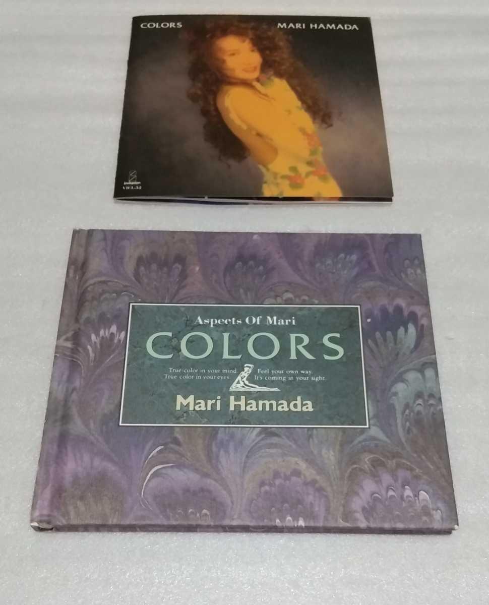 シンガー ソング ライター 浜田麻里 アルバム カラーズ 初回限定盤 スリーブ ケース ブック レット付 廃盤CD COLORS VICL-52 4988002209798_※ブックレットの状態は良い方かと思います