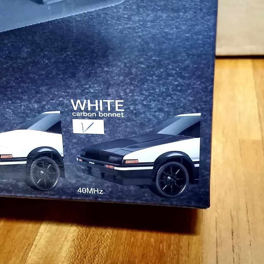 新品  トヨタ  AE86  ハチロク  カーボンボンネット  ラジコン
