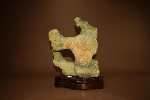 唐石 霊壁石  (盆景 水石 鑑賞石 飾り石)ID3276_画像3