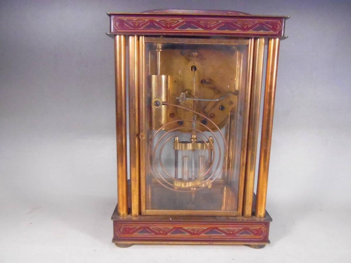 ★  アンティークゼンマイ式振り子時計 ダイヤ時計製造所  ★