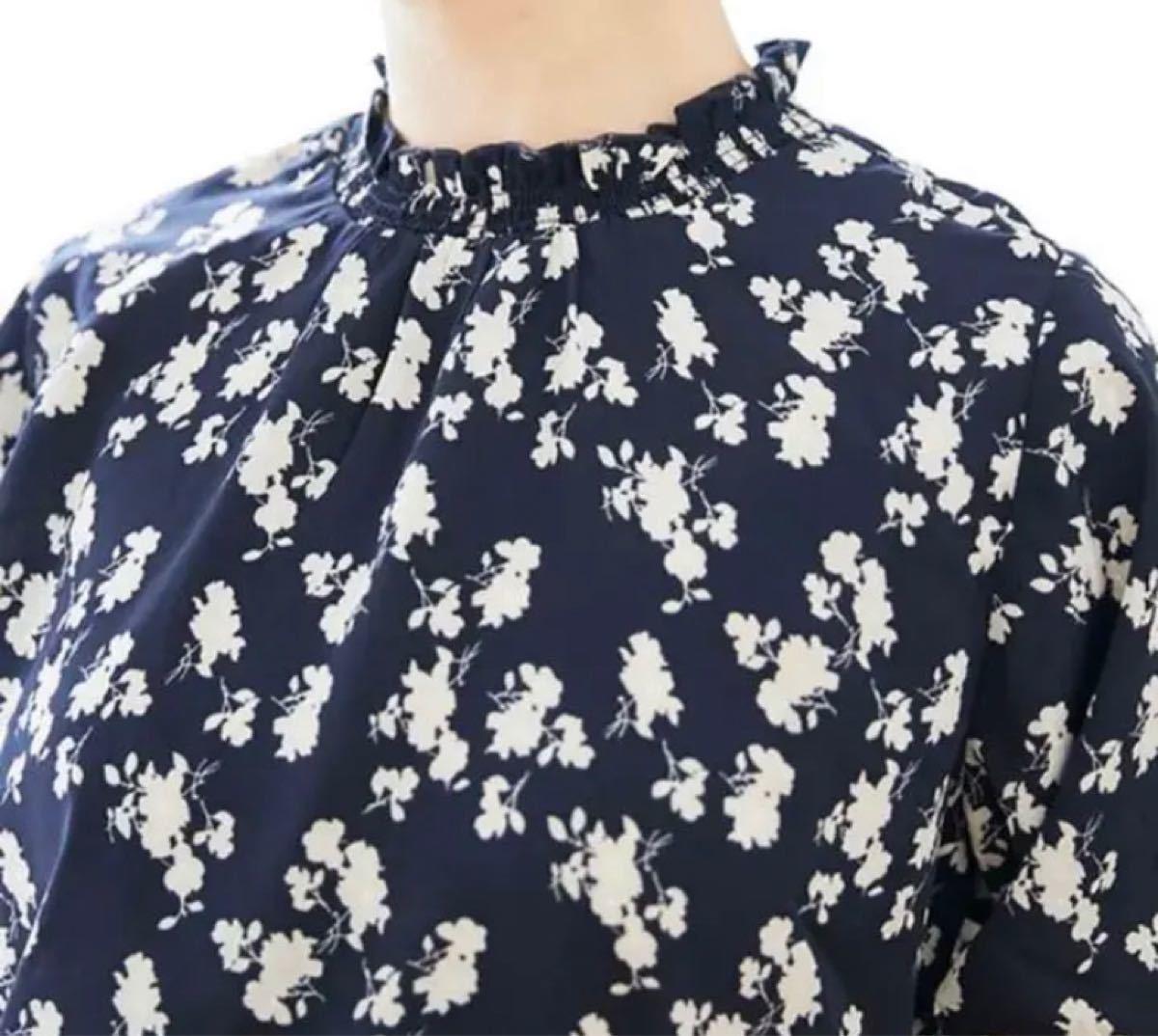 花柄ブラウス ブラウス フラワー ブラウス 半袖 花柄