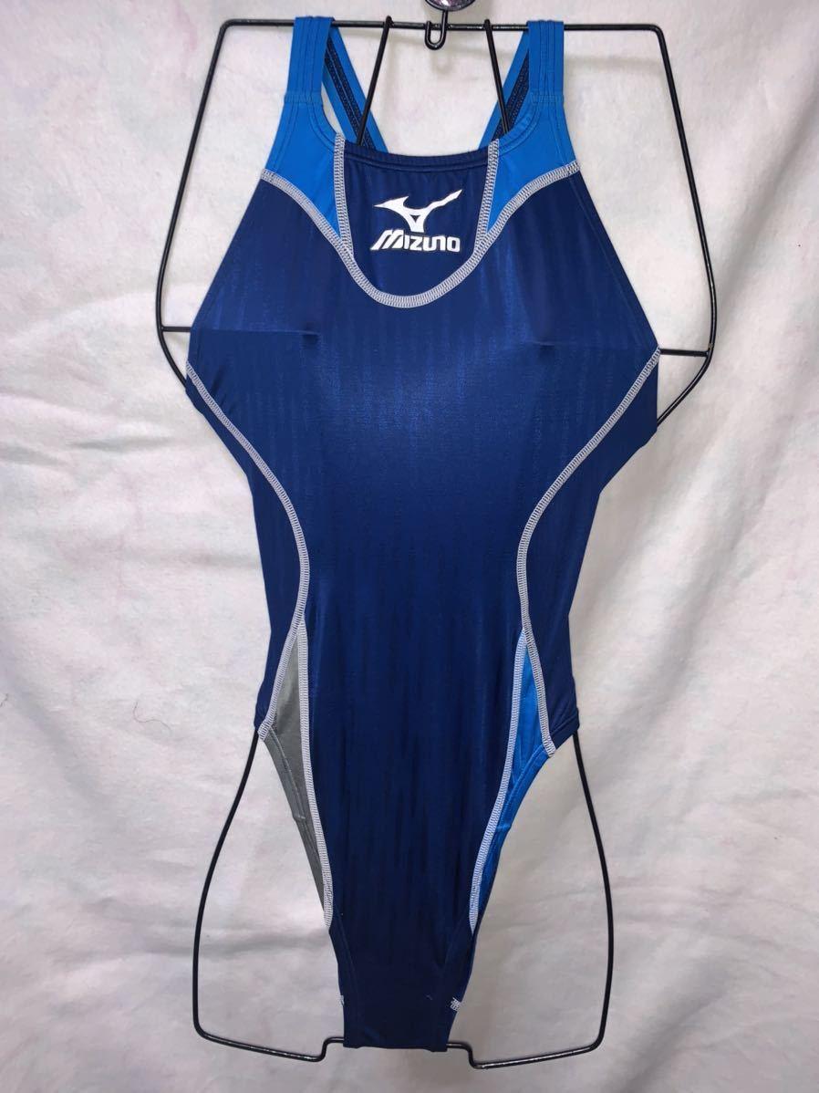 ミズノ アクセルスーツウォータージーン Lサイズ 競泳水着 ハイレグ ウロコ模様 ミズノ arena アシックス SPEEDO