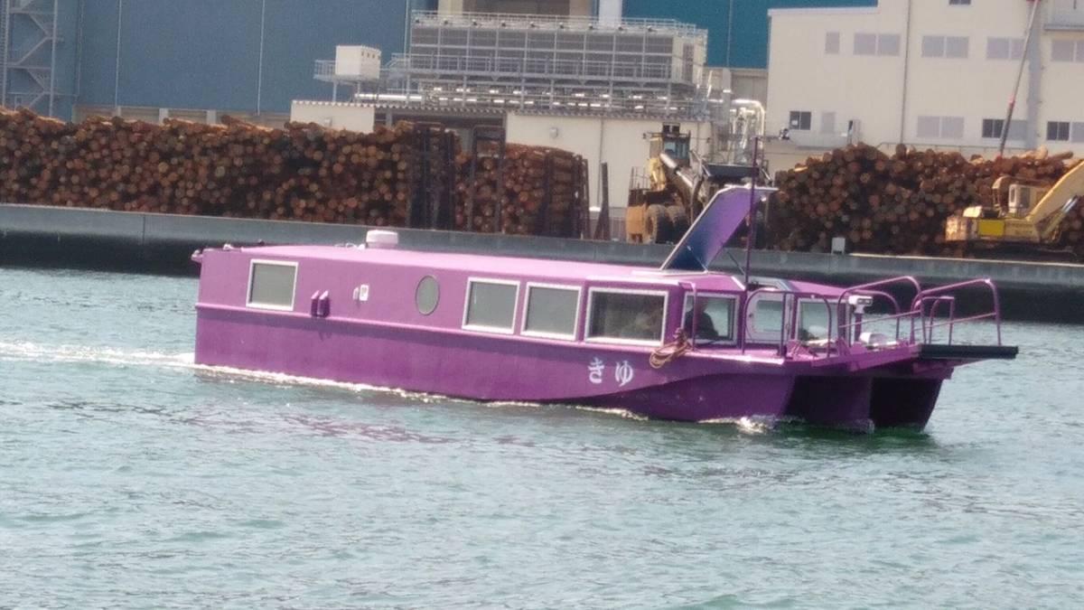「アルミ旅客船 平成28年建造 速力20ノット 未使用」の画像3
