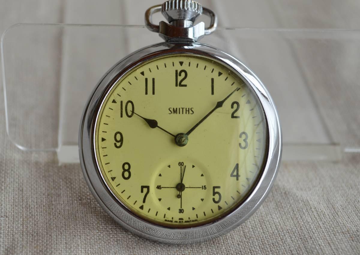 SMITHS スミス 懐中時計 イギリス 英国 ビンテージ ヴィンテージ アンティーク ジャンク品 00F06_画像1