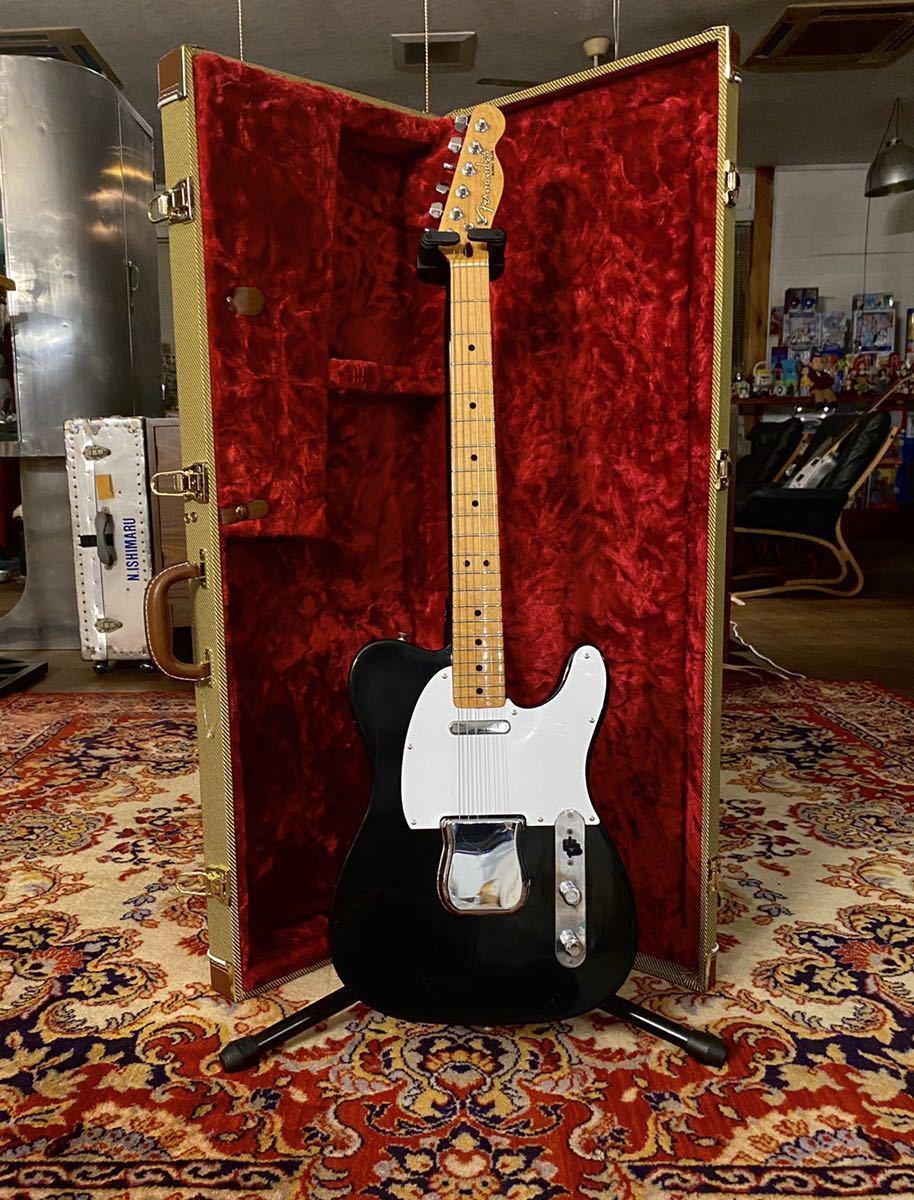 希少 激レア 1975年製 Fernandes Burny Olds Telecaster Fender Custom バーニー フェンダー フェルナンデス オールド ブラック USED 良品